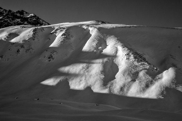 Schattenspiele am Hohen Rad in der Silvretta