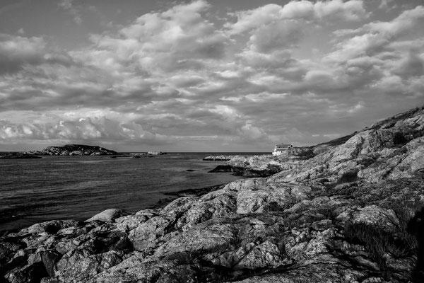 Küste bei Kristiansand Norwegen
