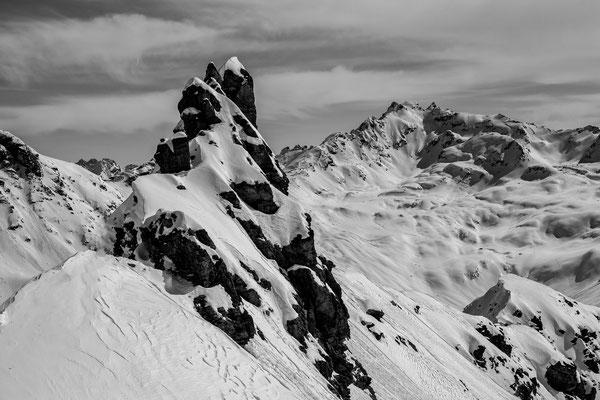 Micha Doberstein - Gandatal mit Blick zur Rotbühlspitze