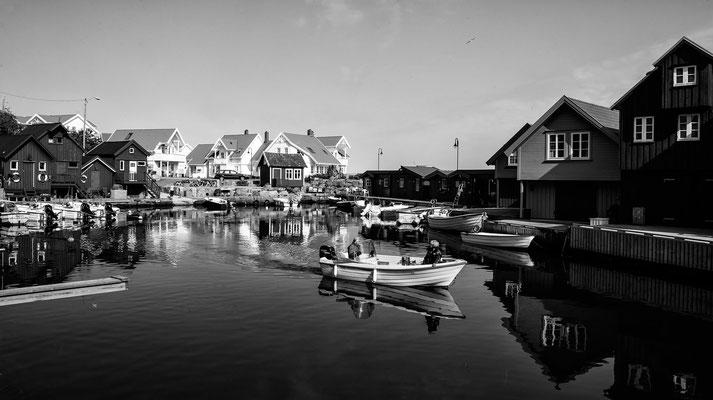 Hafen bei Kristiansand Norwegen