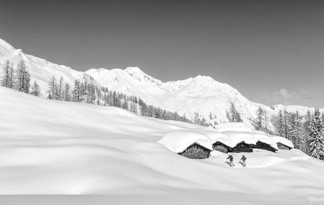 Alpe Gues Martina Micha Silbertal Austria