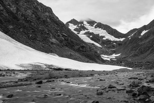 Warm up zum Byron Gletscher