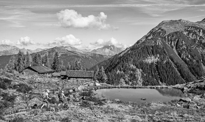 Alpe Gues Silbertal Austria