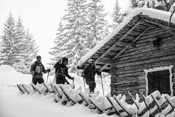 Auf Schneeschuhen am Kristberg 3