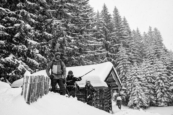 Auf Schneeschuhen am Kristberg 6