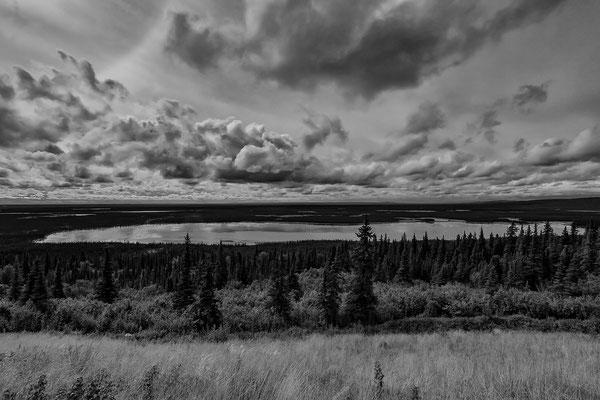 Traumhafte Landschaften vor Fairbanks