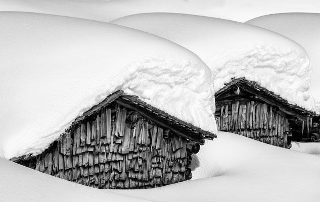 Alpe Gues Silbertal Austria - Coverbild Kalender 2016