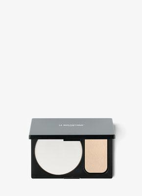 Kompaktpuder für die Handtasche ohne Pigment