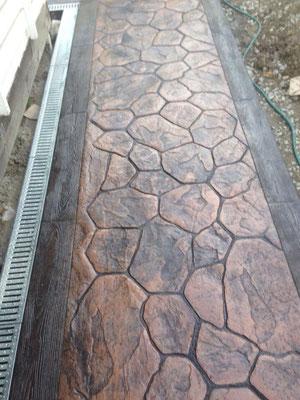 Печатный бетон сочи цементные растворы на жидком стекле