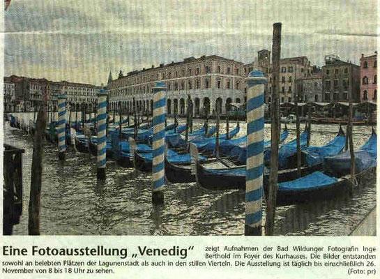 Artikel zur Ausstellung Venedig 2006