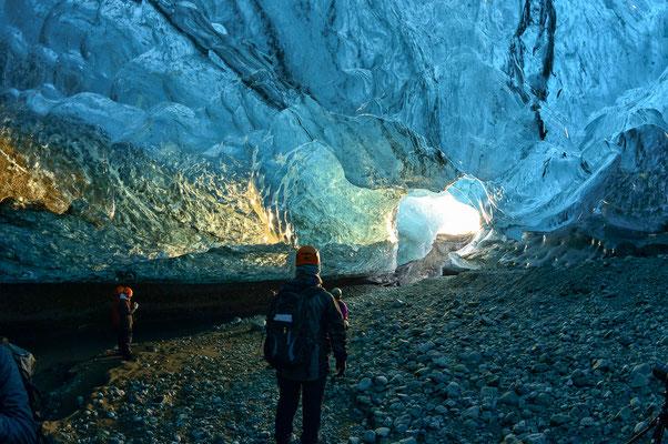24 Crystal Cave Alu/Glas 58x77cm
