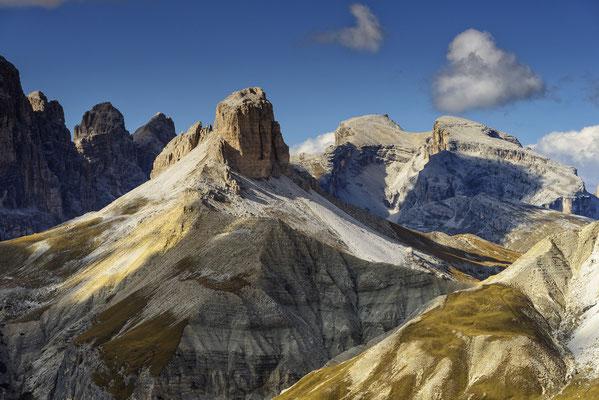 15 Colori delle Dolomiti Alu/Glas 35x45cm