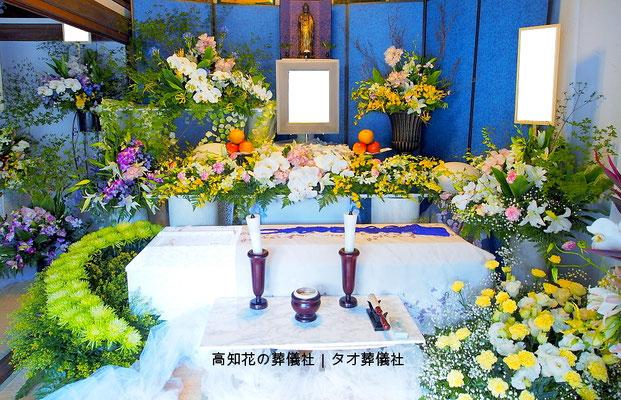花の祭壇、施工実例015