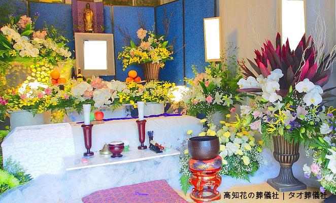 花の祭壇、施工実例014