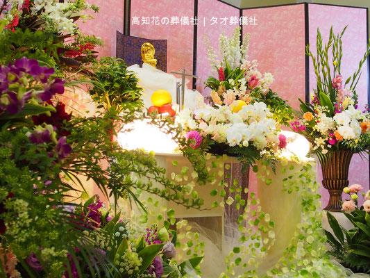 花の祭壇、施工実例019