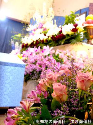 花の祭壇、施工実例001
