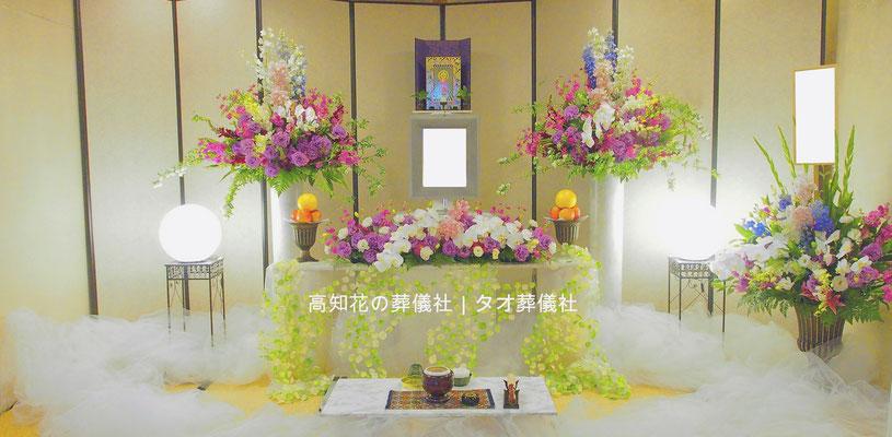 花の祭壇、施工実例004