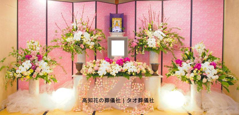 花の祭壇、施工実例010