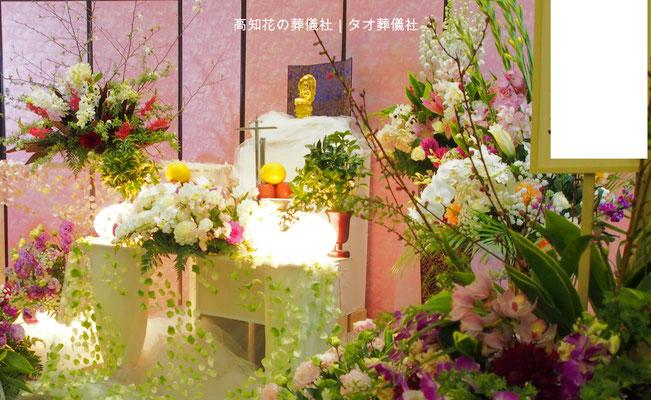 花の祭壇、施工実例018