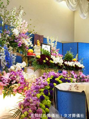 花の祭壇、施工実例003