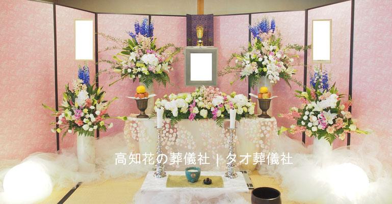 花の祭壇、施工実例029