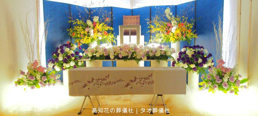 花の祭壇、施工実例023