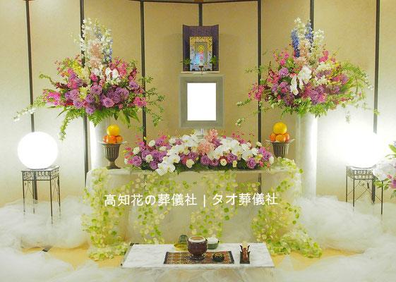 花の祭壇、施工実例026