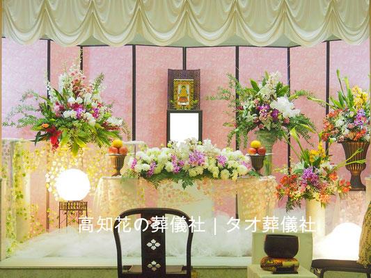 花の祭壇、施工実例027