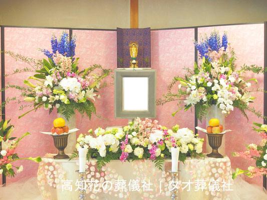花の祭壇、施工実例028