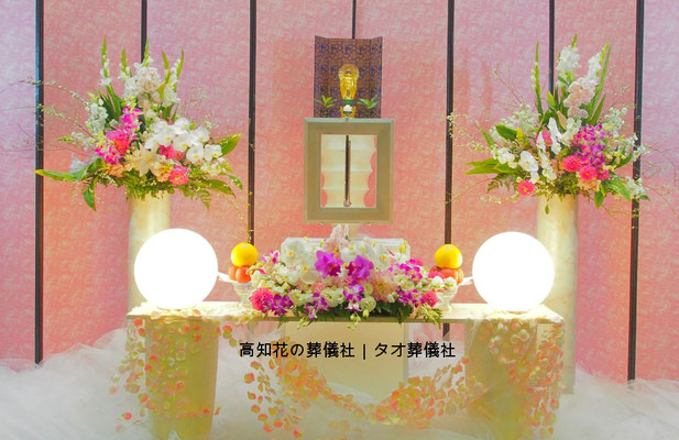 花の祭壇、施工実例005