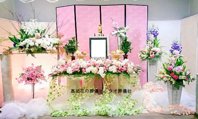 花の祭壇、施工実例012