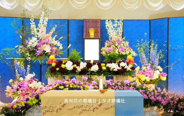 花の祭壇、施工実例002
