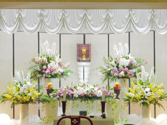 花の祭壇、施工実例030