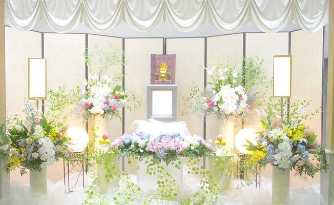 花の祭壇、施工実例033