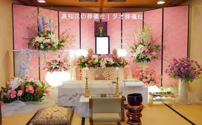 花の祭壇、施工実例025