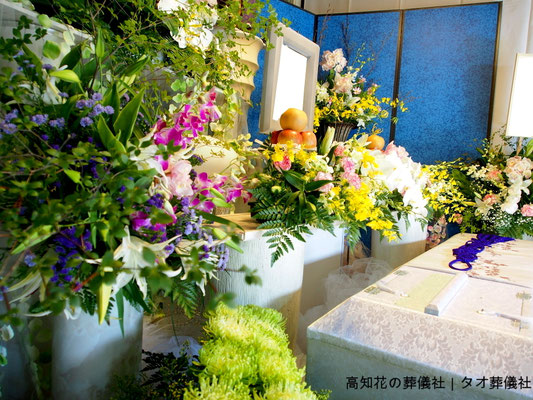 花の祭壇、施工実例016