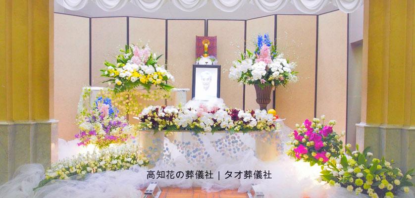 花の祭壇、施工実例006