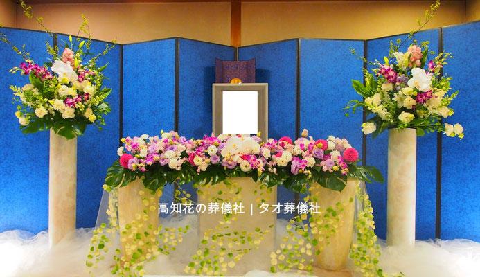 花の祭壇、施工実例013
