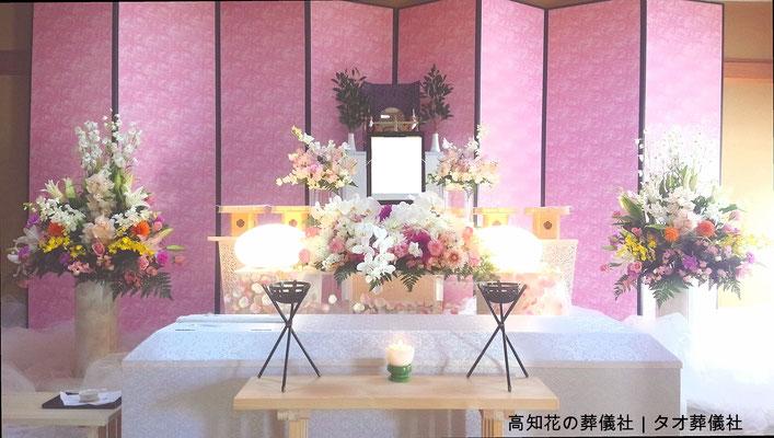 花の祭壇、施工実例011