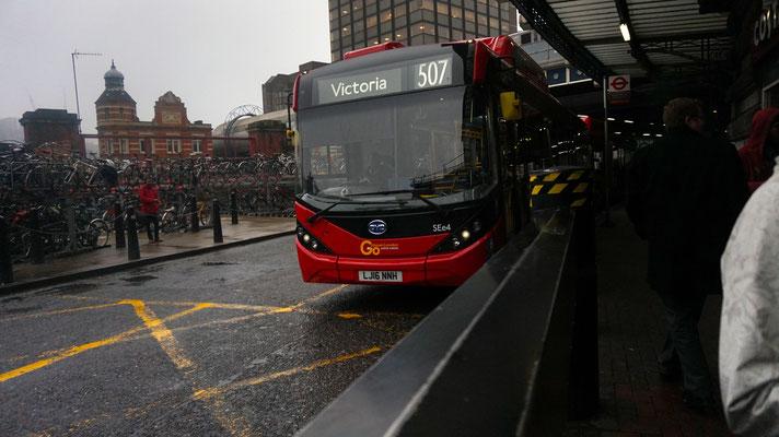 Elektrischer BYD Bus