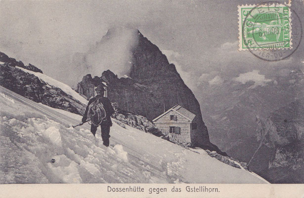 Postkarte - gestempelt 1908