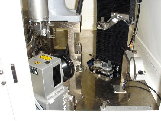 Laserbeschriftung von Bohrer in der Medizinaltechnik, Gravage laser des forets médicales