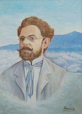 Secundino Delgado, 1980. Óleo sobre lienzo, 52,5 x 72,5 cm. Col. José Miguel Ramos Noda