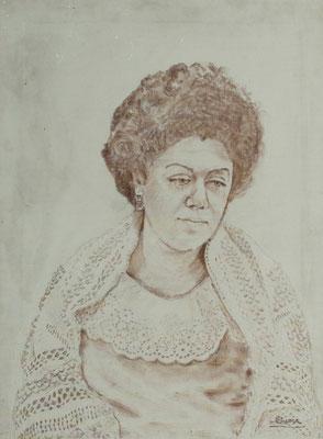 Olga Macía Bonnet. Técnica mixta, 53 x 61,5 cm. Col. familia Macía Bonnet