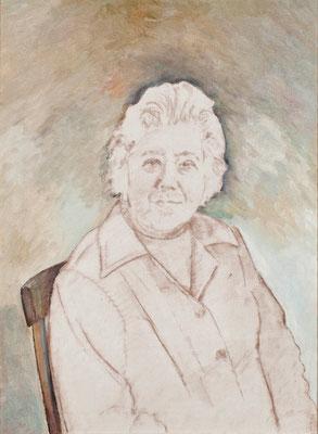 Eloísa Bonnet Martínez.  Óleo sobre lienzo, 52 x 71 cm. Col. familia Macía Bonnet