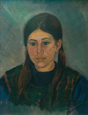 Carmen Peraza González (Carmita). Óleo sobre tablilla, 38 x 50 cm. Col. Carmen Peraza