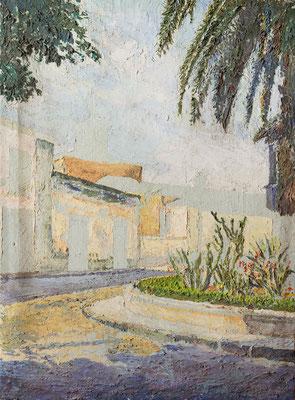 Sin título.  Óleo sobre lienzo, 54,5 x 73,5 cm. Col. Carmen Peraza González