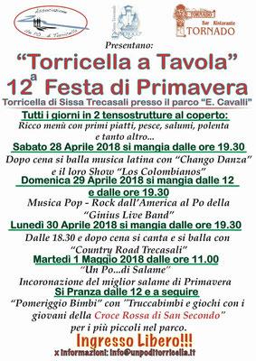 12 festa di primavera - Torricella a Tavola