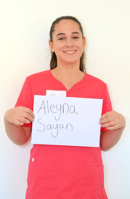Aleyna Sayan - Auszubildende
