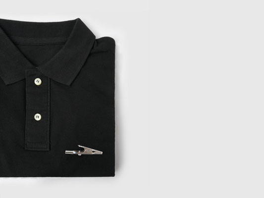 CROCODILE CLIP POLO SHIRT